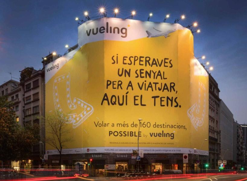 anuncios publicitarios ejemplos vueling