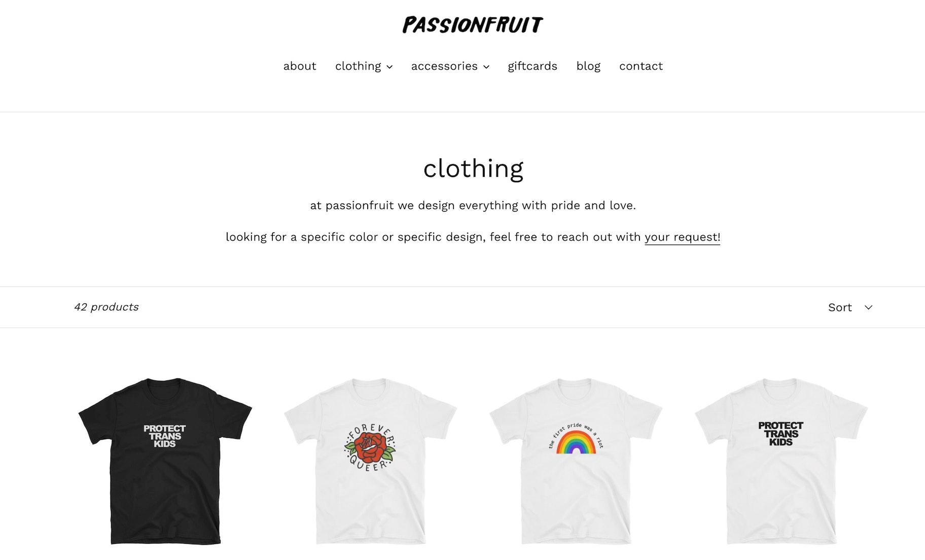 passionfruit vision statement