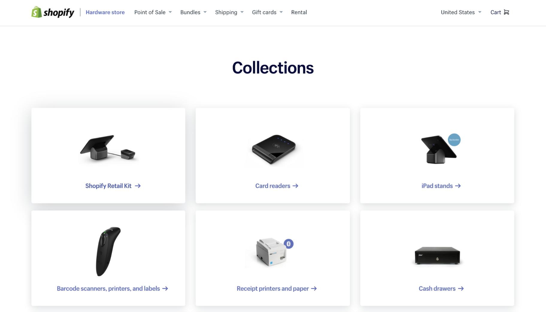 Shopify POS Hardware