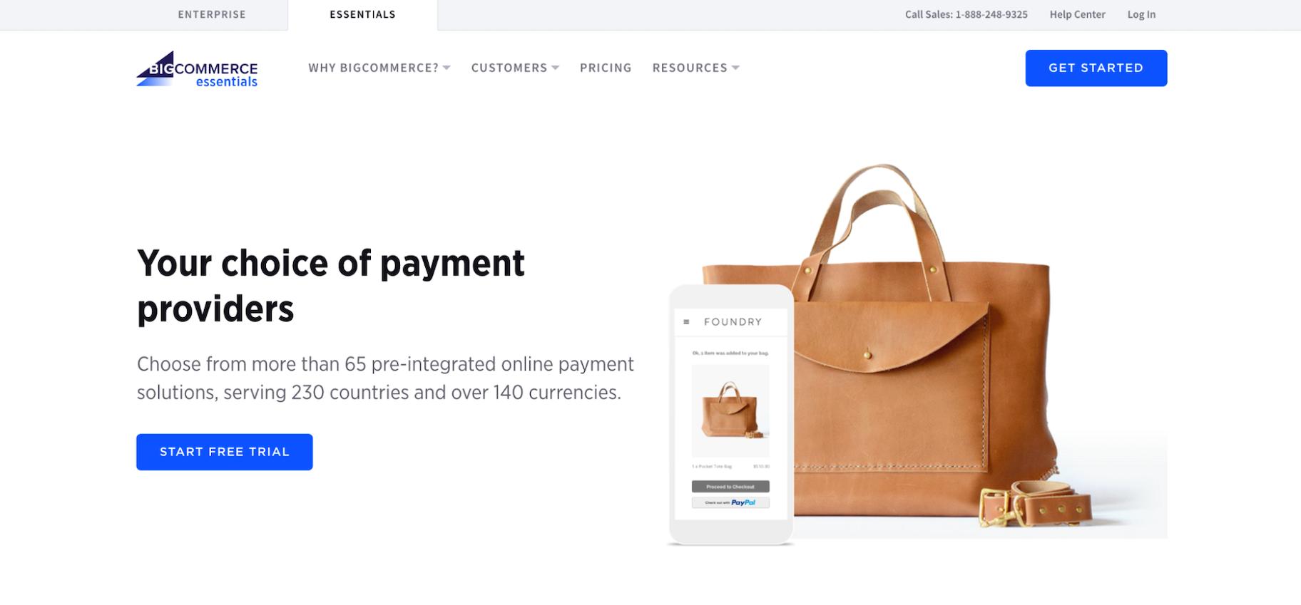 BigCommerce versus Shopify Payment Gateways