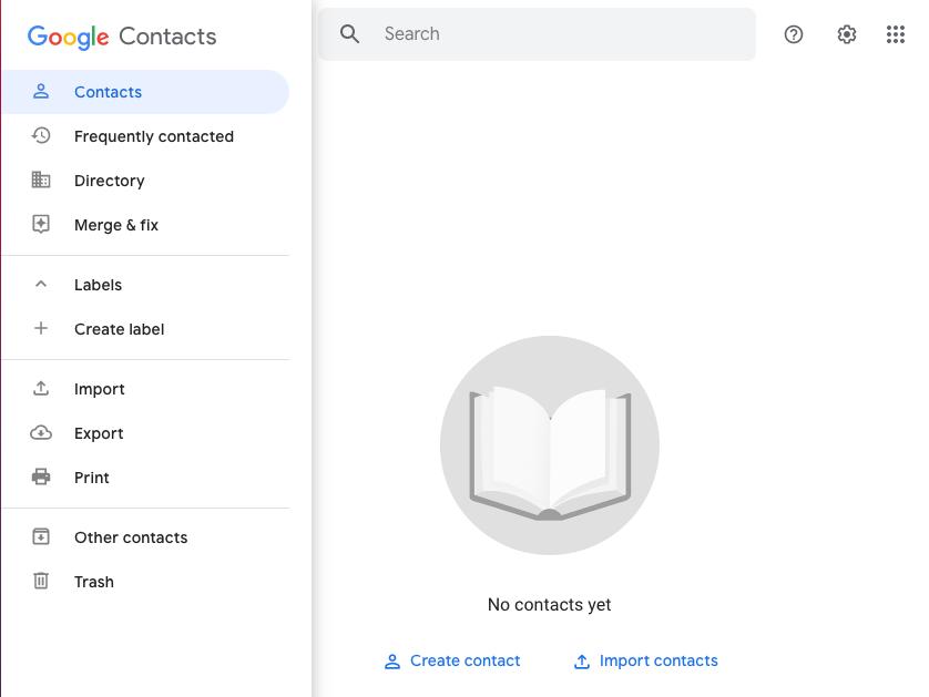 come inviare una newsletter con Gmail: crea lista contatti