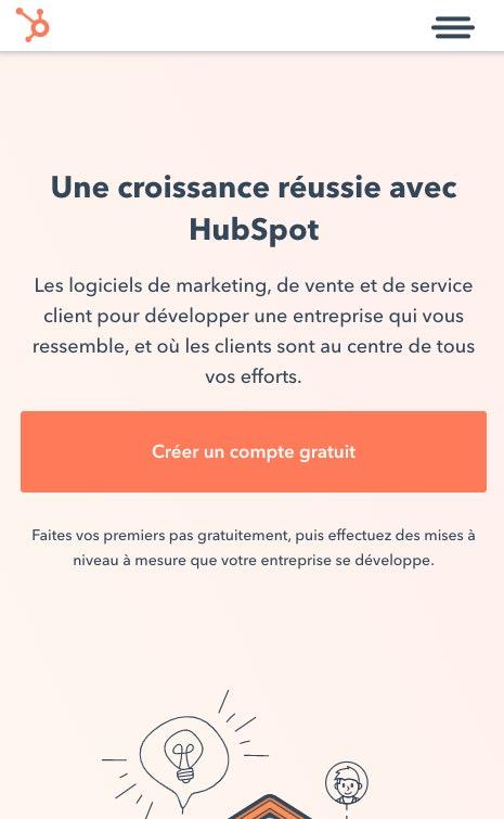 Monter son entreprise Hubspot