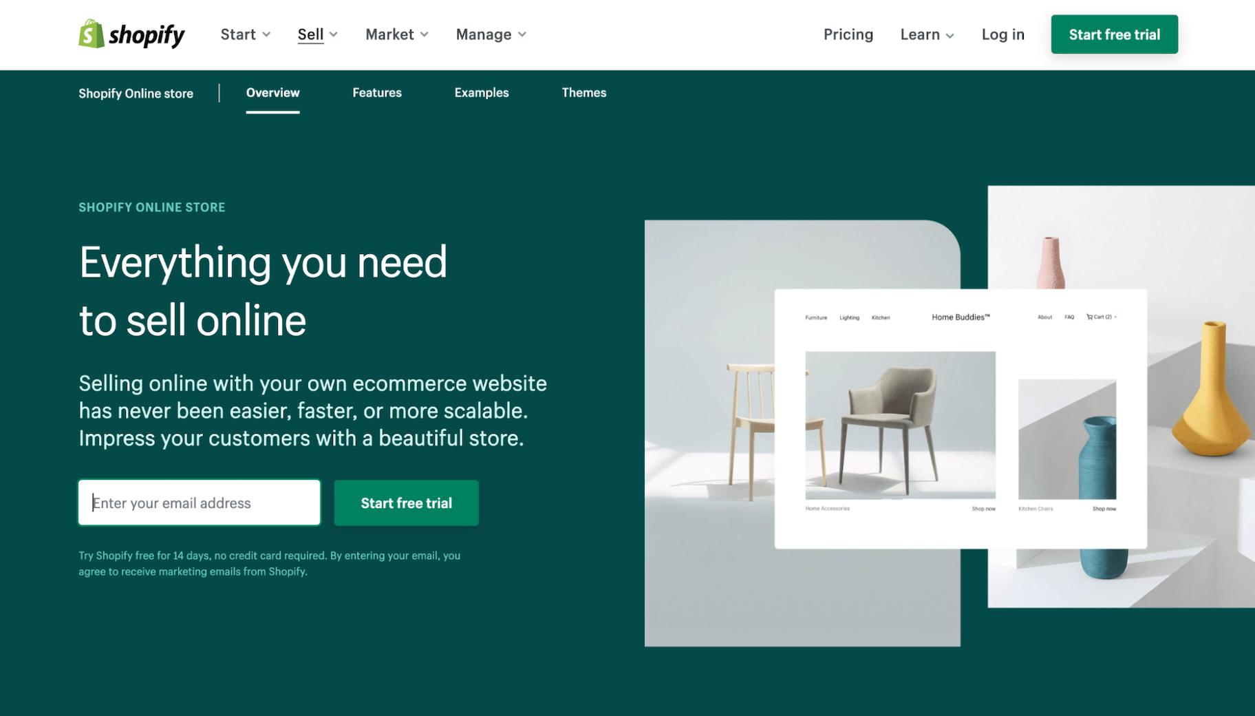 WordPress vs. Shopify for Ecommerce