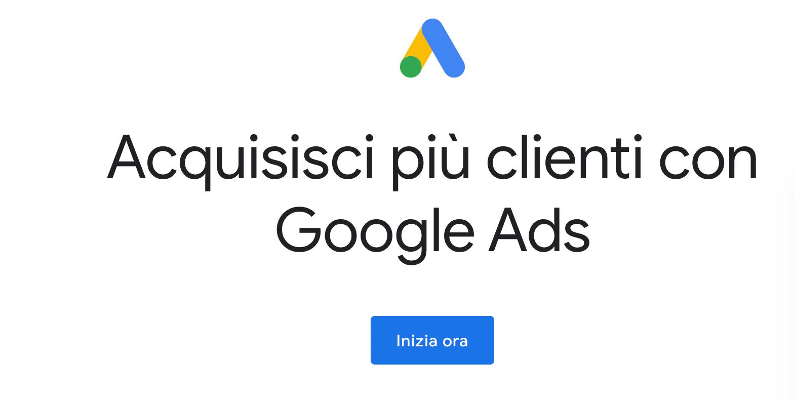 come iscriversi a google ads
