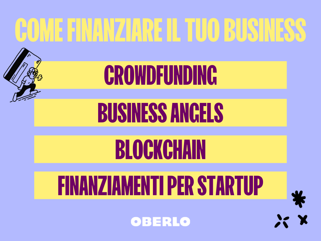come finanziare il tuo business
