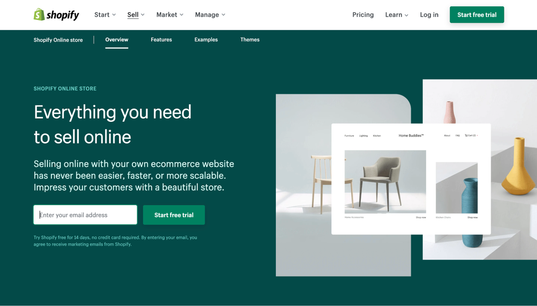 Squarespace vs. Shopify for Ecommerce