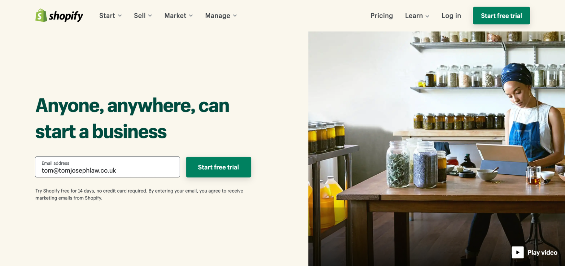 Shopify Versus Squarespace