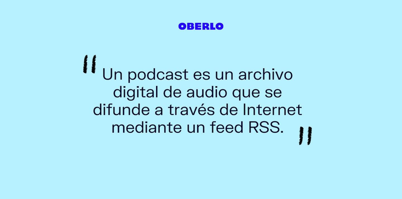 podcast que es