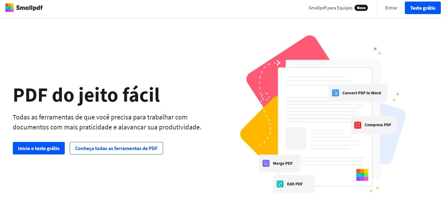 Editar PDF online: SmallPDF