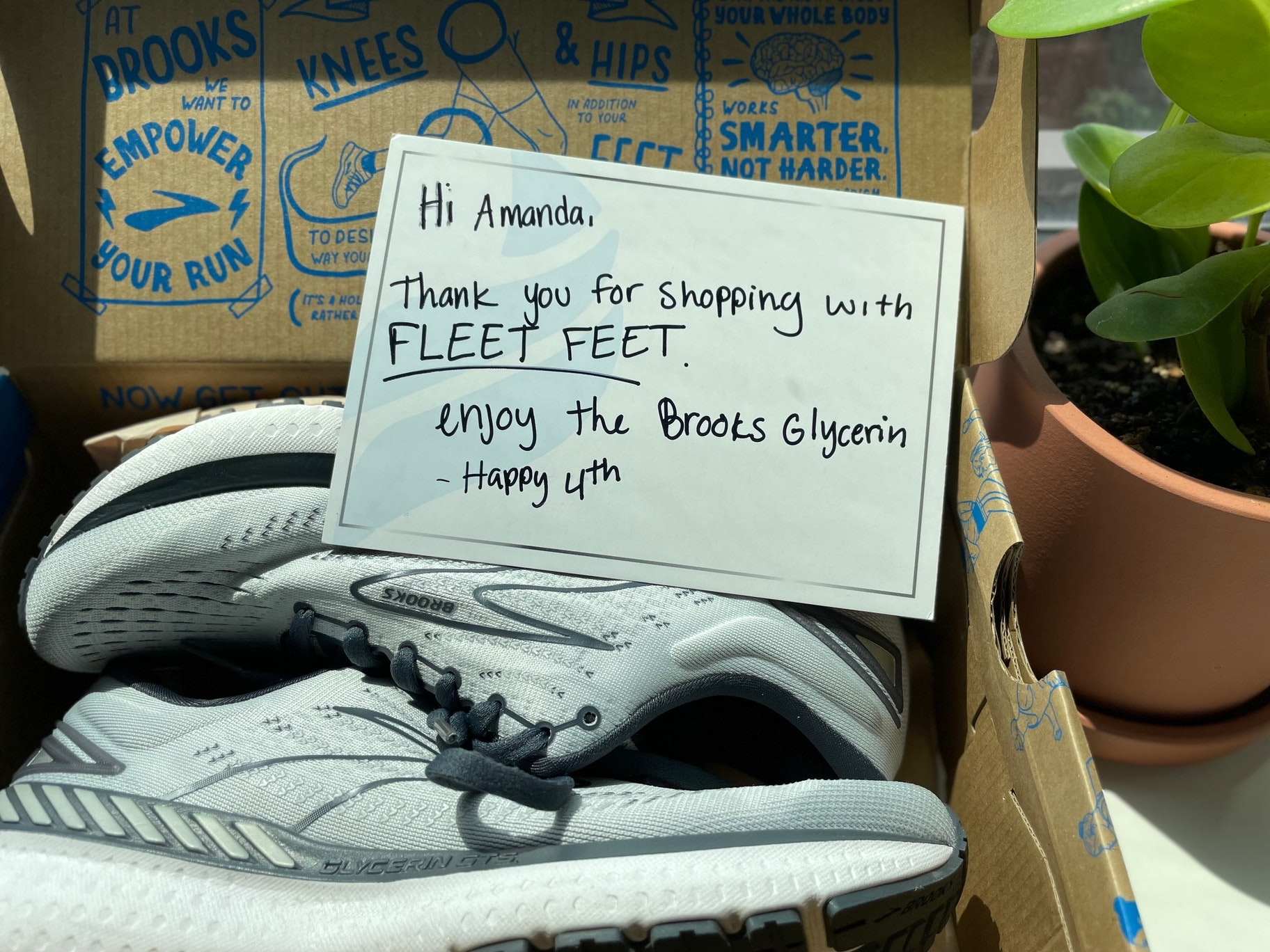 Fleet Fleet thank you for your purchase
