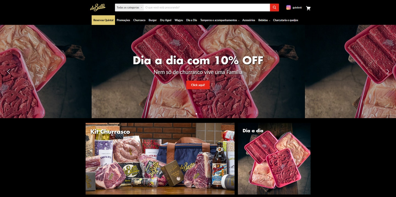 Lojas Shopify Brasil: deBetti