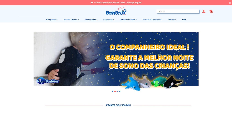 Lojas Shopify Brasil: Best Baby