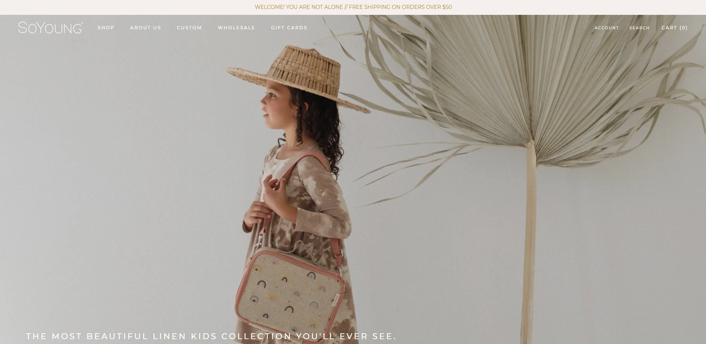 Lojas Shopify: SoYoung