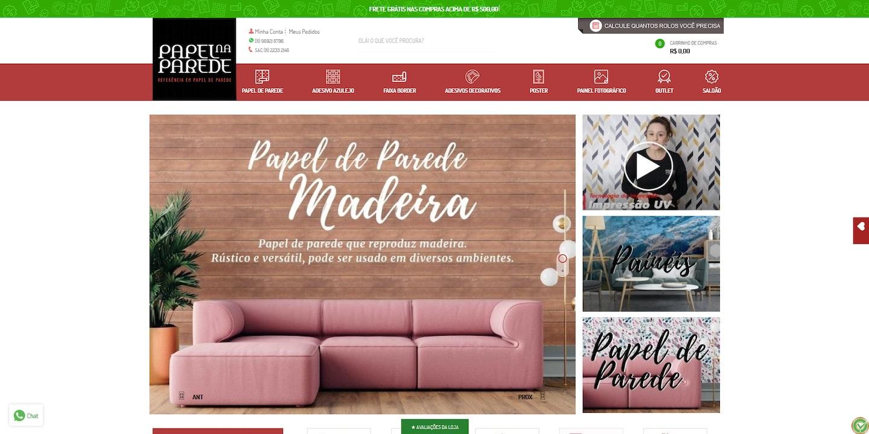 Lojas Shopify Brasil: Papel na Parede
