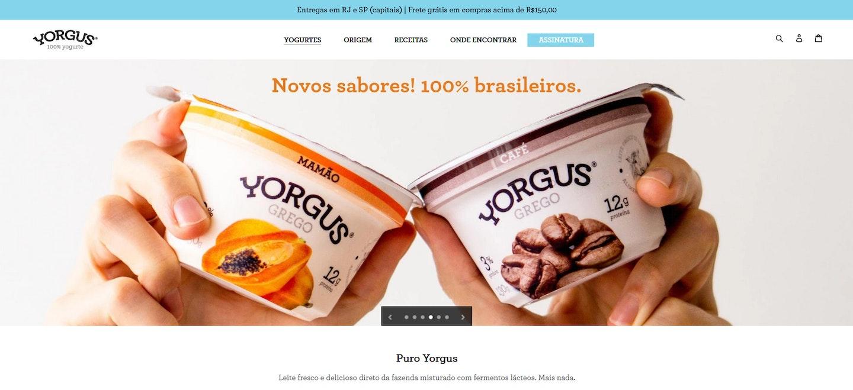Lojas Shopify Brasil: Yorgus
