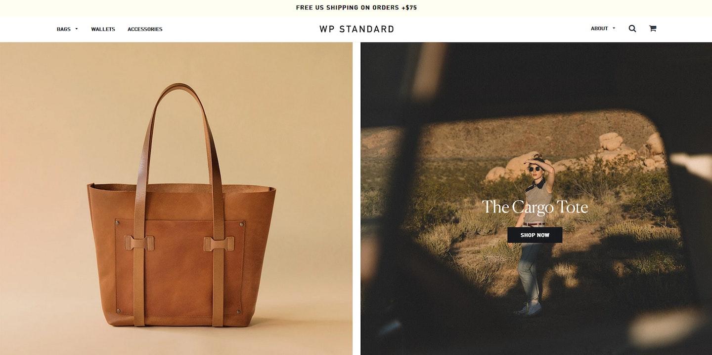Lojas Shopify: WP Standard