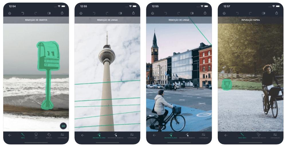 app para tirar fundo de imagem: TouchRetouch