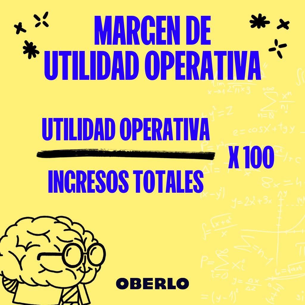 margen de utilidad formula utilidad operativa