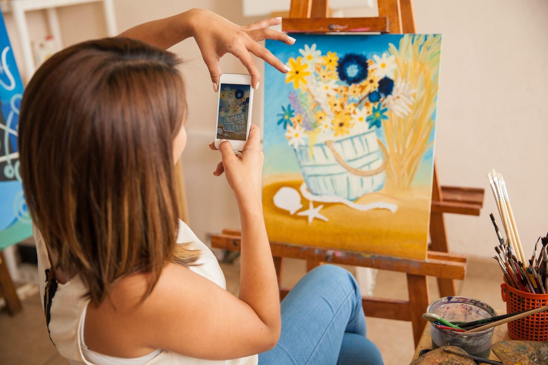 Como vender arte digital online: fotografia dos produtos