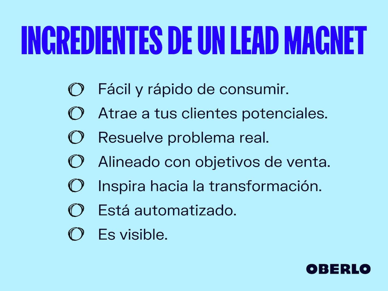 Lead magnet qué es