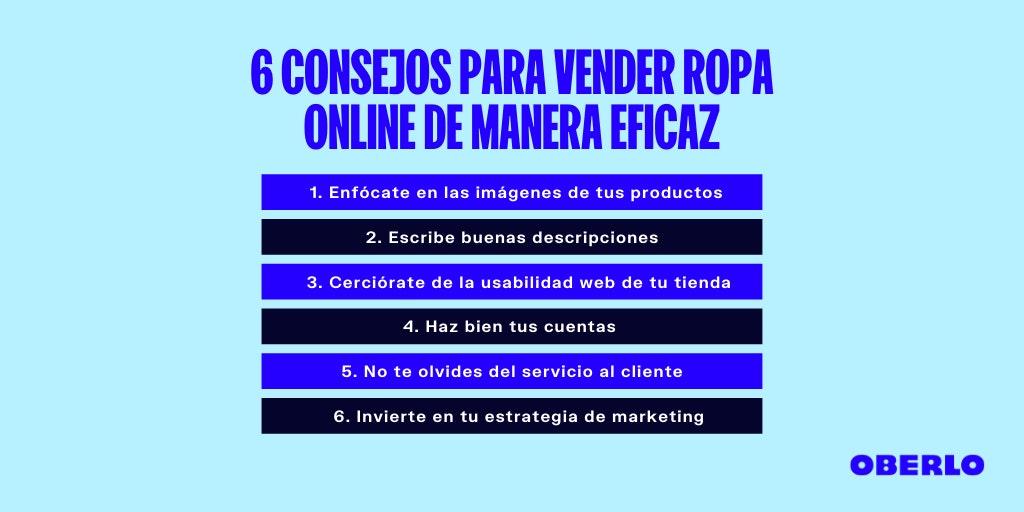 como vender ropa online consejos