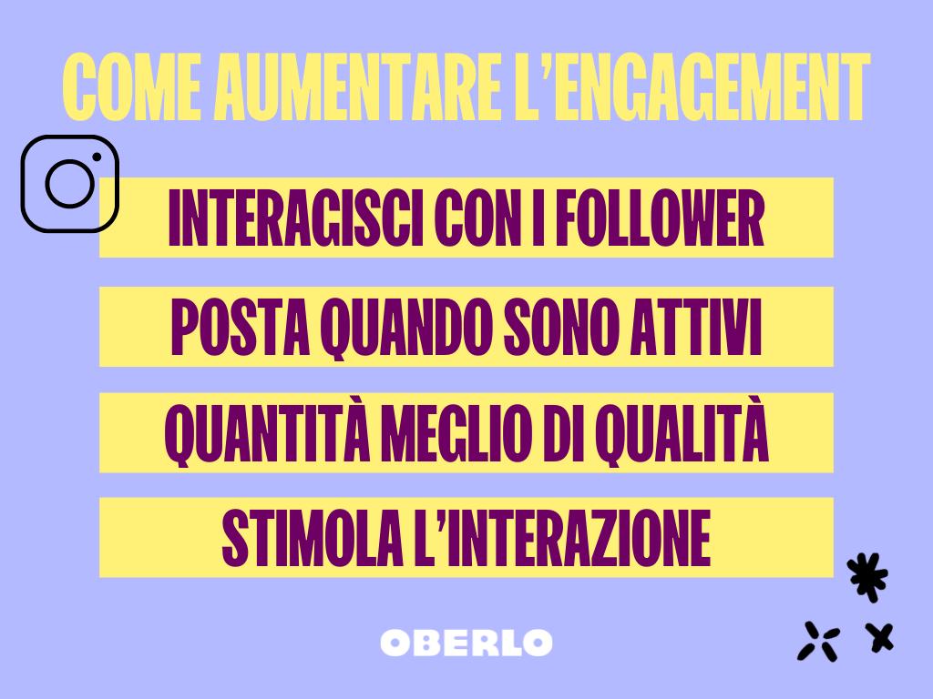come aumentare l'engagement con l'algoritmo instagram