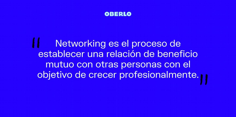 Networking definición