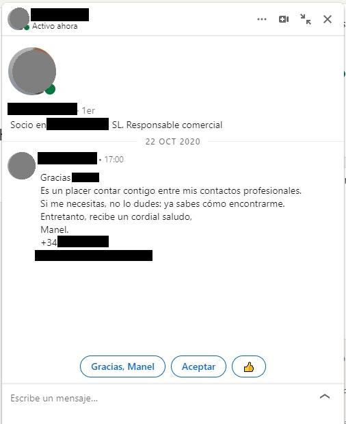 Networking online en Linkedin