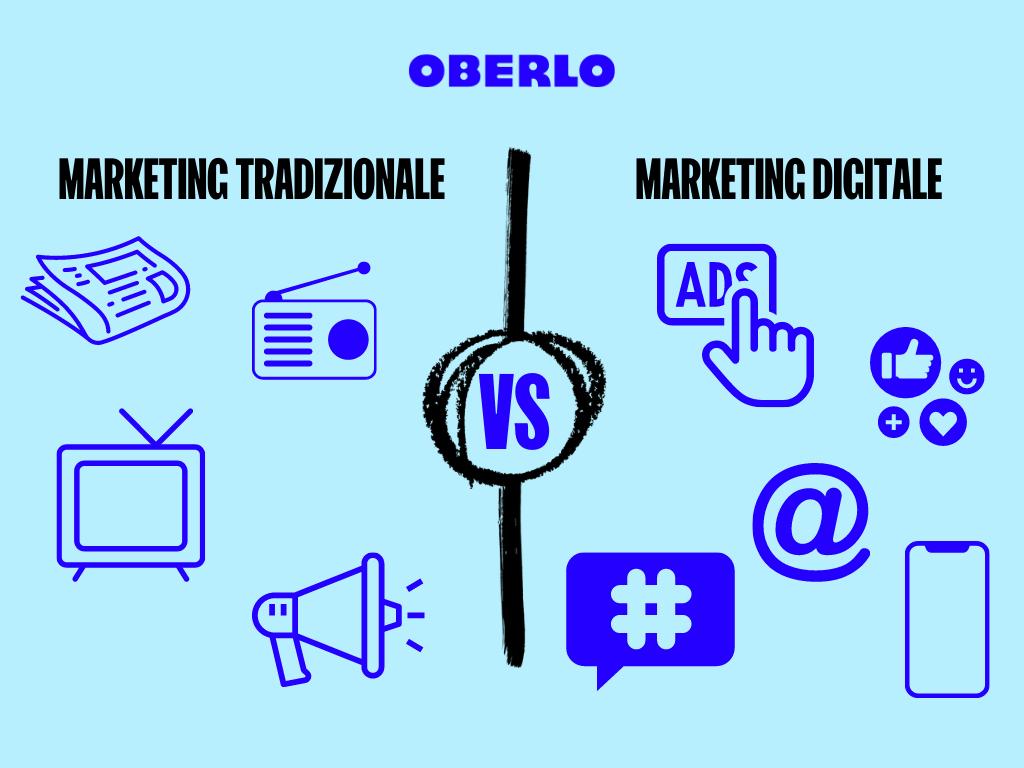 marketing tradizionale vs digitale