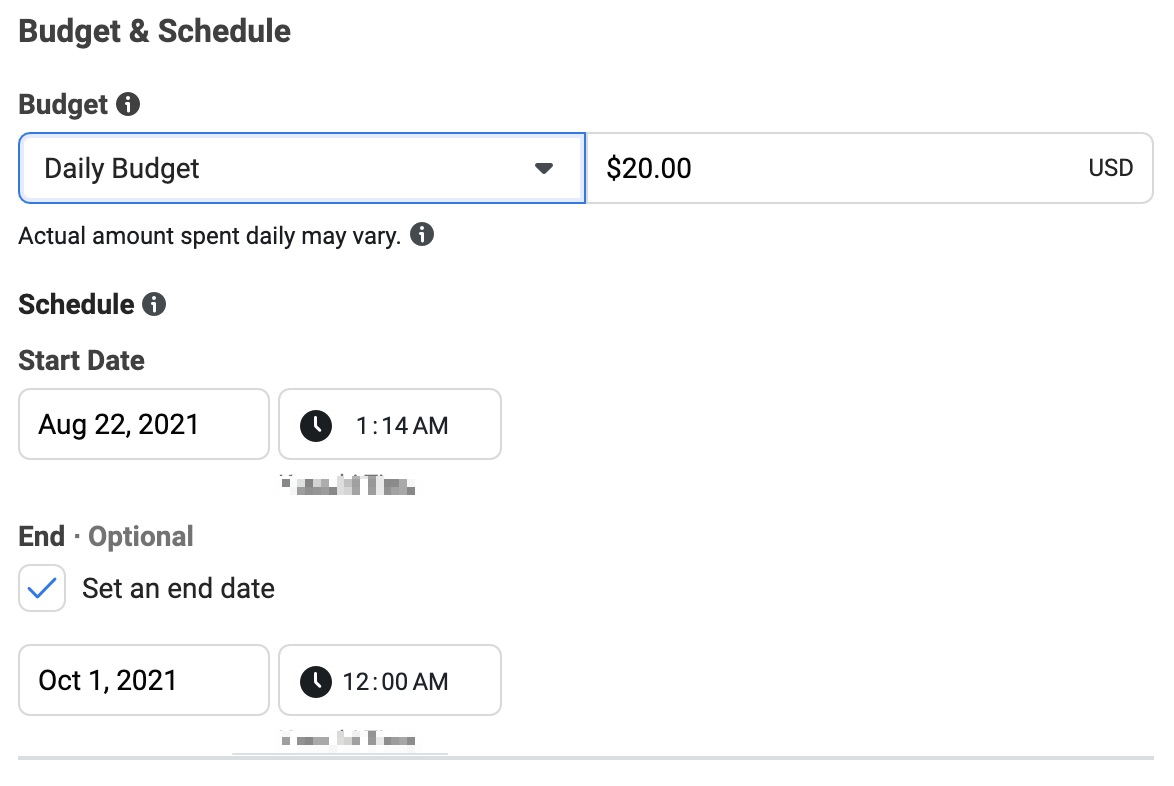 How to advertise on Instagram: budget and schedule