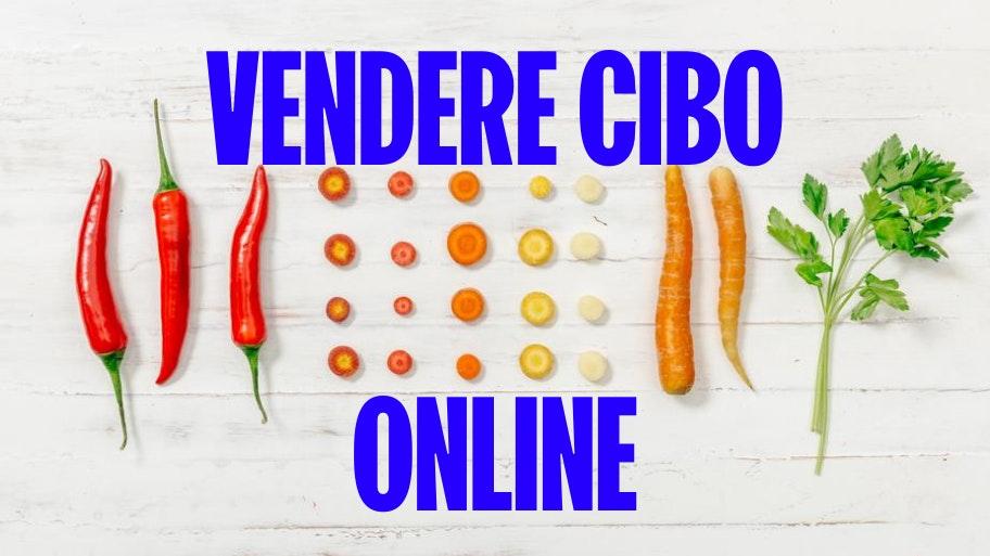 vendere cibo online