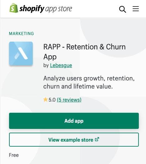 RAPP outil Churn