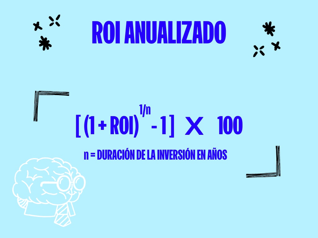 formula para calcular el roi anualizado