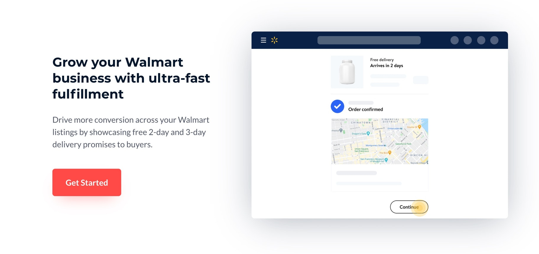 Deliverr Walmart partnership