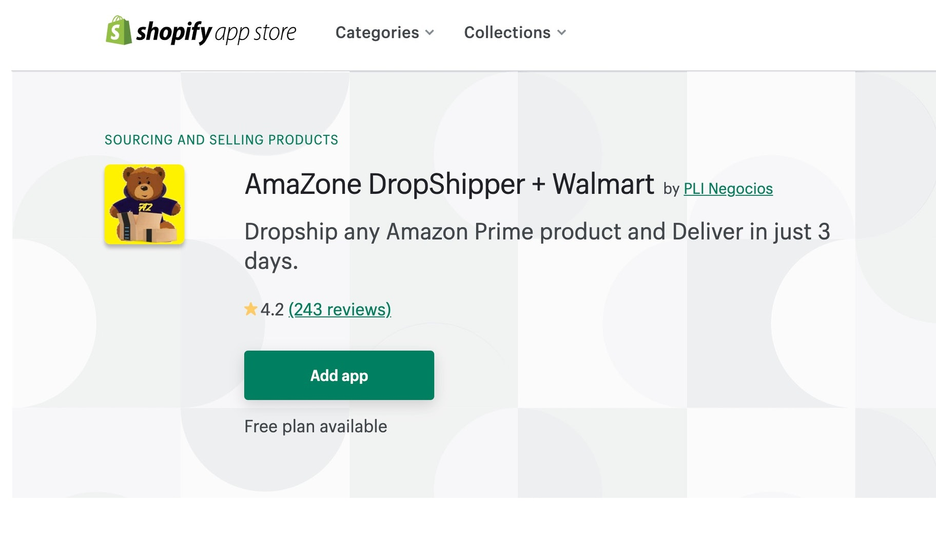 Dropshipping from Walmart to Shopify