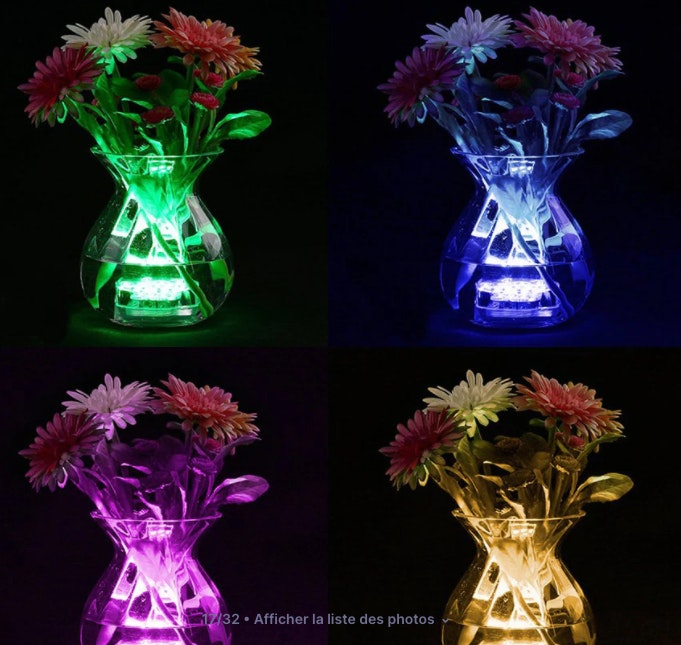 LED submerssibles