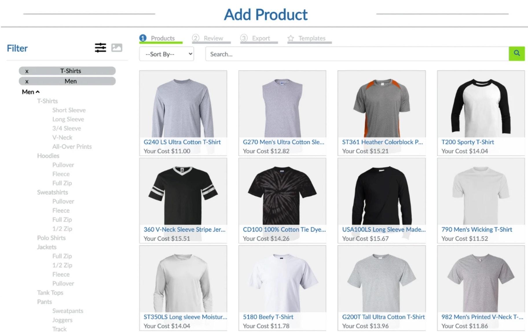 create high-quality custom products print on demand