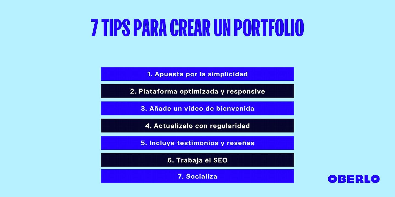 Cómo hacer un portfolio