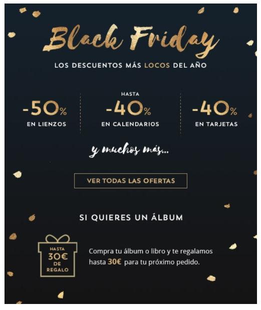 Promociones Black Friday