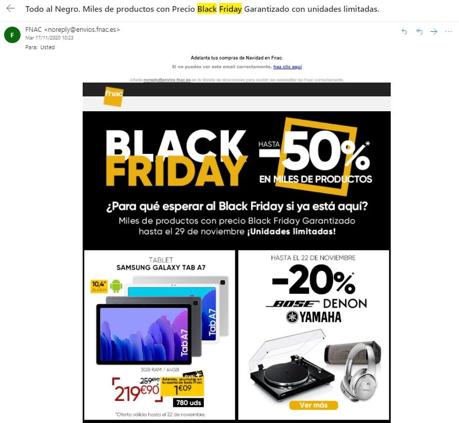 Ideas de Marketing en Black Friday