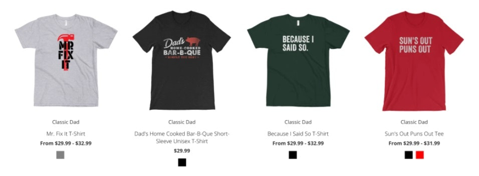 make and sell t-shirts online