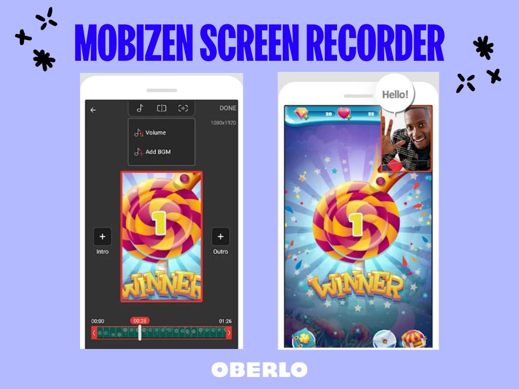 app per registrare schermo mobizen