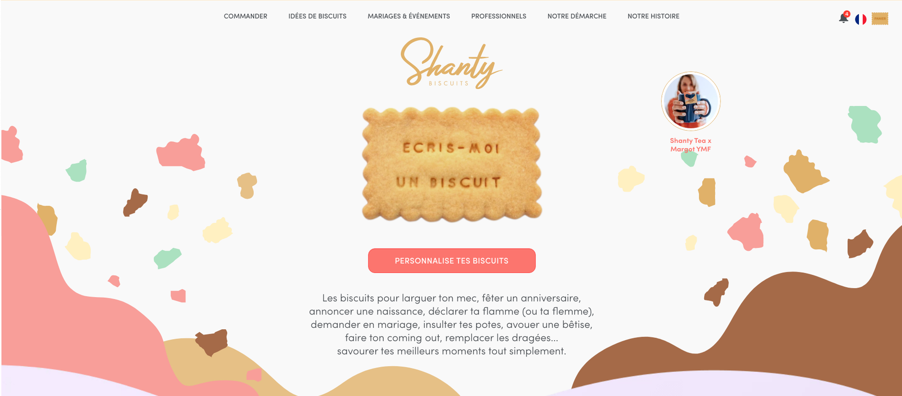 boutique shopify Shanty Biscuits