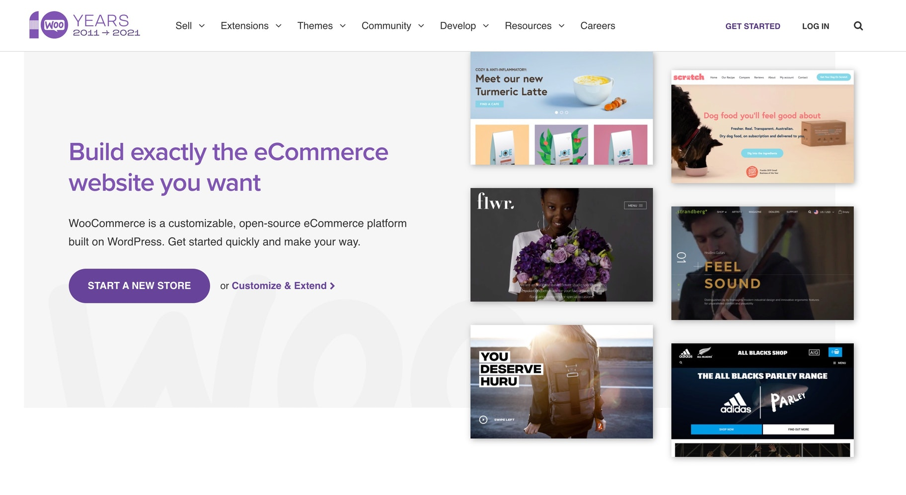 WordPress online store builder WooCommerce