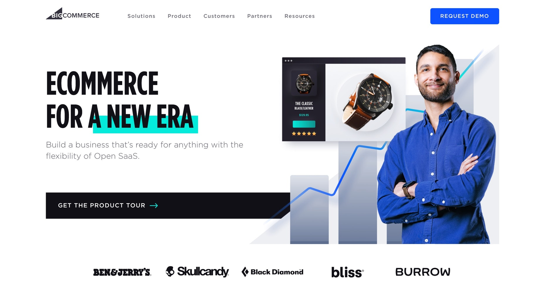 Shopify competitors for larger businesses: BigCommerce