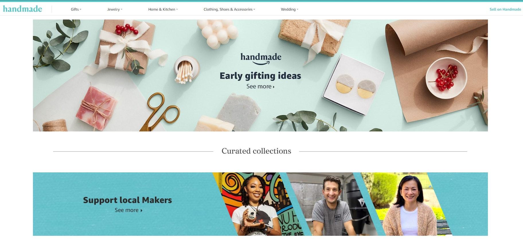 marketplace alternatives to Shopify: Amazon
