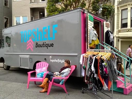 pop-up shop example: TopShelf Boutique