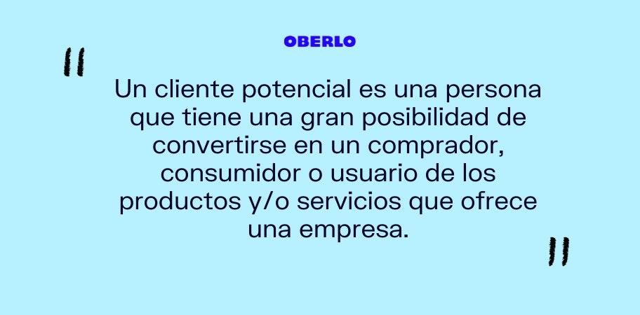 clientes potenciales definicion