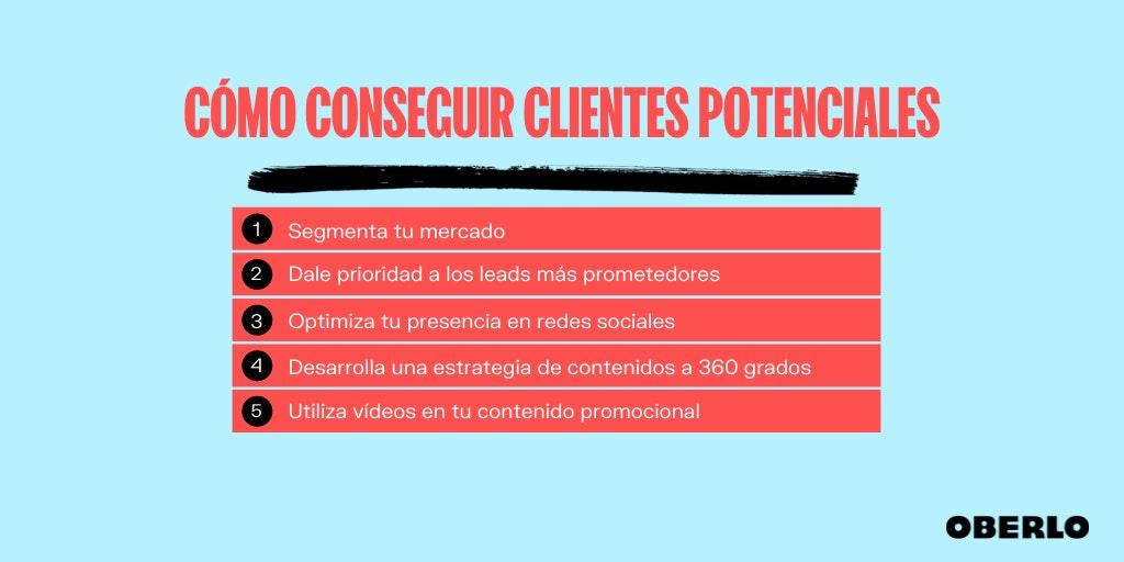 clientes potenciales y como conseguirlos