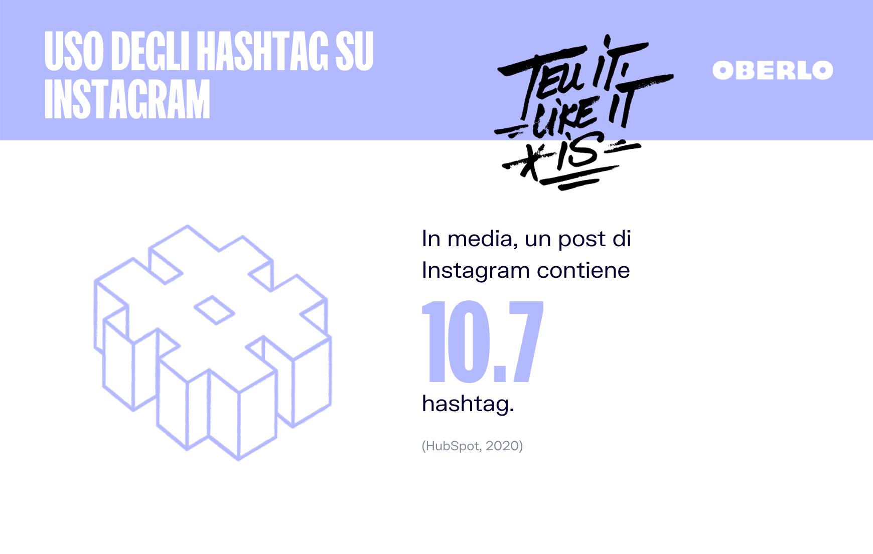 statistiche instagram hashtag